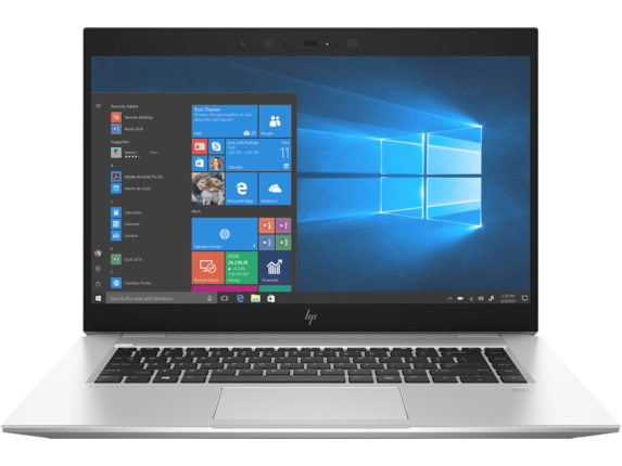 HP EliteBook 1050 G1 Notebook PC - Center