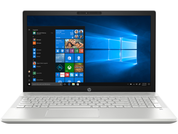 "HP Pavilion 15t 15.6"" HD Intel Quad Core i5 Touchscreen Laptop"