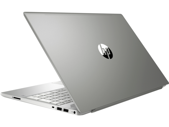HP Pavilion Laptop 15t - 8th Generation Intel - Left rear