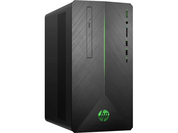 HP Pavilion Gaming Desktop 690-0015xt - Right
