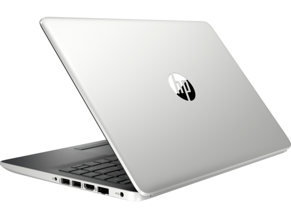 HP Notebook - 14-df0010nr - Left rear