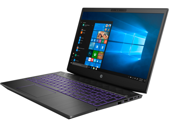 HP Pavilion Gaming Laptop - 15t Hexa Core w/ 2GB Discrete - Left