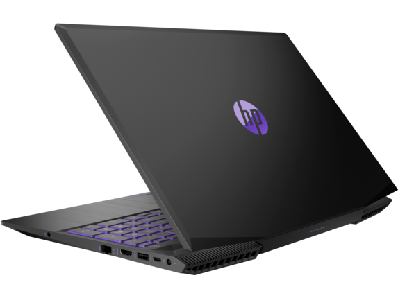 HP Pavilion Gaming Laptop - 15t Hexa Core w/ 2GB Discrete - Left rear