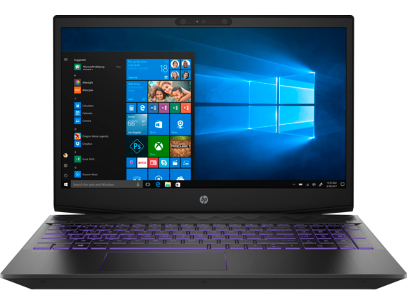 HP Pavilion Gaming Laptop - 15t Hexa Core w/ 2GB Discrete - Center