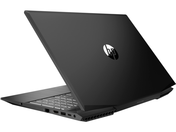 HP Pavilion Gaming - 15t Laptop Hexa Core w/ 2GB Discrete - Left rear