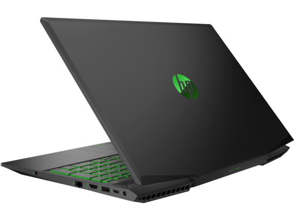 HP Pavilion Gaming - 15t Quad w/ 2GB gfx - Left rear