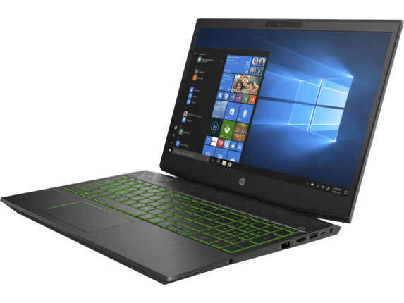 HP Pavilion Gaming - 15t Quad w/ 2GB gfx touch optional - Left