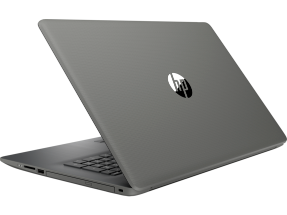 HP Notebook 17-ca0011nr Touch - Left rear