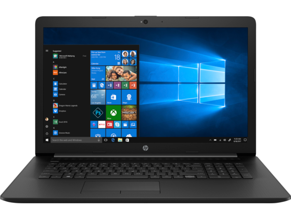 HP Laptop - 17t touch optional - Center