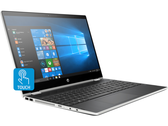 HP Pavilion x360 Convertible Laptop - 15t - Right