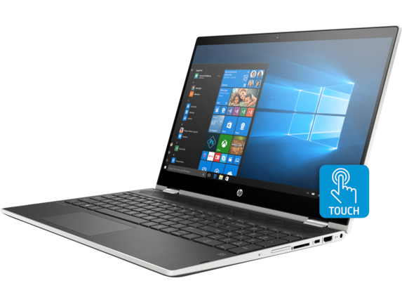 HP Pavilion x360 Convertible Laptop - 15t - Left