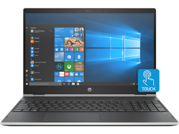 HP Pavilion x360 Convertible Laptop - 15t - Center