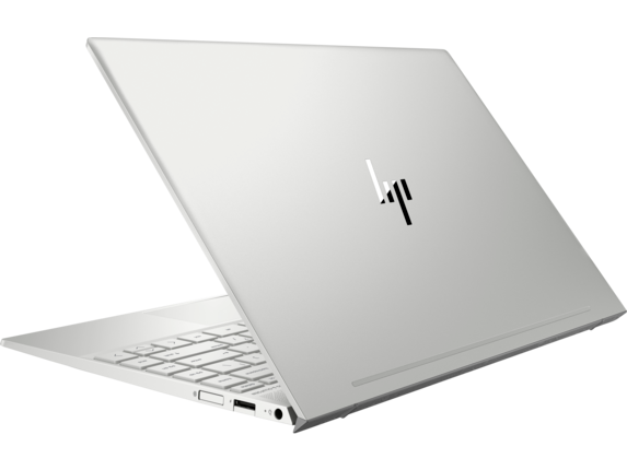HP ENVY Laptop - 13t touch - Left rear|Natural Silver