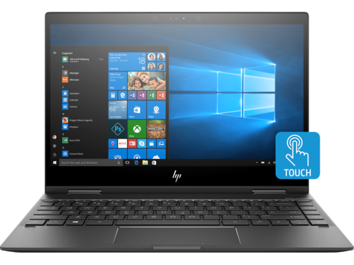 "HP ENVY x360 13z 13.3"" FHD AMD Quad Core Ryzen 3 2300U Laptop"