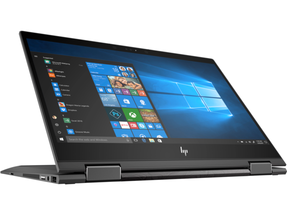 HP ENVY x360 - 13z Touch Laptop - Right screen center