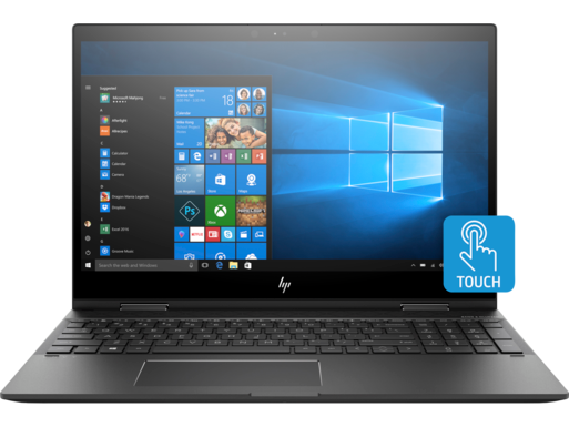 "HP ENVY x360 15z 15.6"" FHD AMD Quad Core Ryzen 5 2500U Laptop"