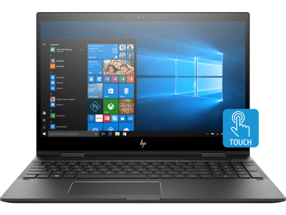 "HP ENVY x360 15.6"" FHD AMD Quad Core Ryzen 5 2500U Laptop"