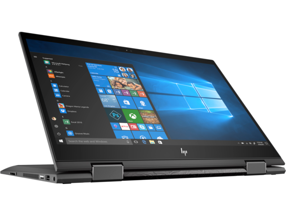 HP ENVY x360 Laptop - 15z touch - Right screen center
