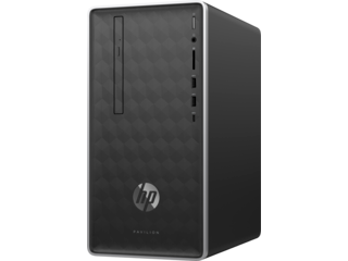"HP Pavilion 590qe Desktop + HP 27"" Curved Display Bundle"