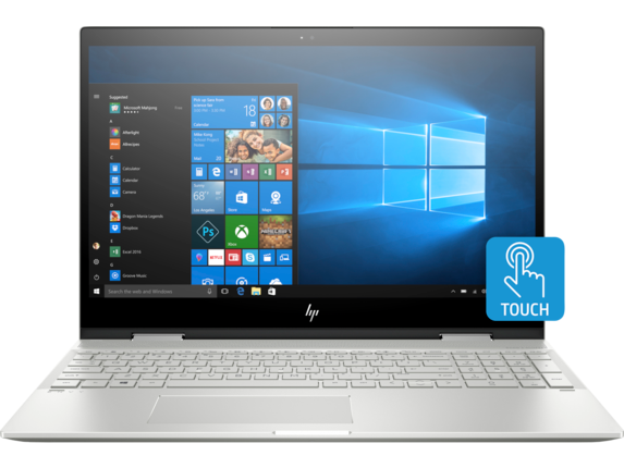 HP ENVY x360 Laptop - 15t touch - Center