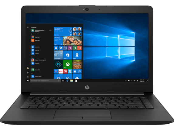 HP - 14z Laptop - Center