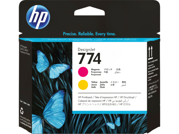 HP 774 Magenta/Yellow DesignJet Printhead