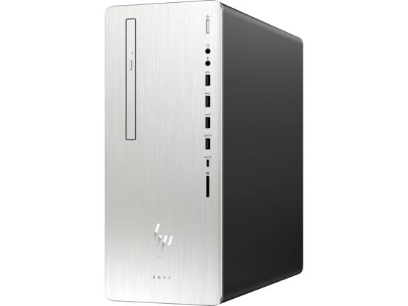 HP ENVY Desktop - 795-0025t - Left