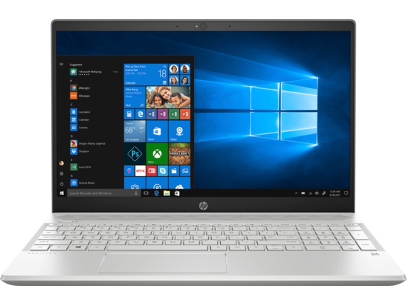 "HP Pavilion 15t 15.6"" HD Laptop (4-Core i7 / 8GB / 1TB HDD & 16GB SSD)"