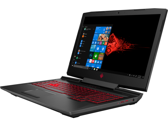 OMEN Laptop - 17t gaming - Left |Shadow Black