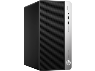 HP ProDesk 400 G5 Microtower PC - Customizable