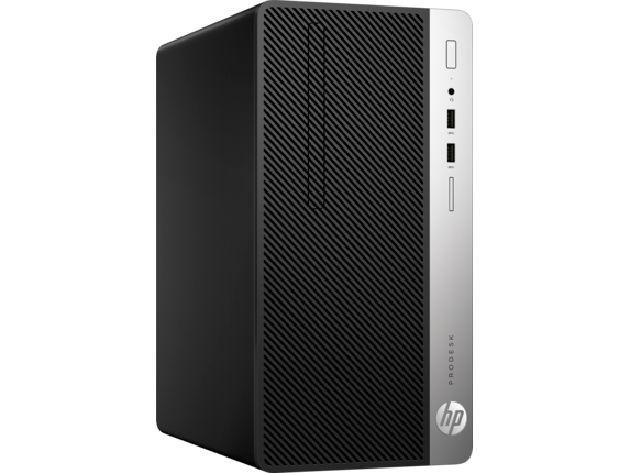 HP ProDesk 400 G5 Microtower PC - Customizable - Right