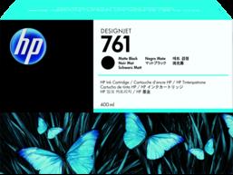 HP 761 400-ml Matte Black DesignJet Ink Cartridge