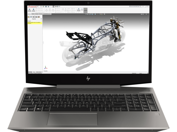 HP ZBook 15v G5 Mobile Workstation - Center