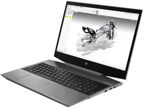 HP ZBook 15v G5 Mobile Workstation - Left