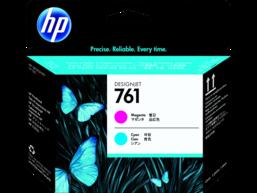 HP 761 Magenta/Cyan DesignJet Printhead