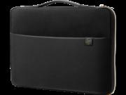 HP 3XD37AA 43,94 cm-es (17,3 hüvelykes) hordozótok, fekete/arany