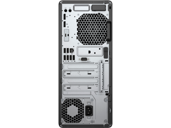 HP EliteDesk 800 G4 Workstation Edition - Rear