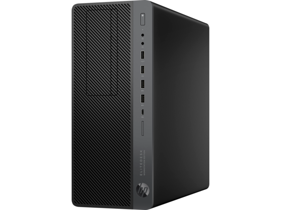 HP EliteDesk 800 G4 Workstation Edition PC - Customizable - Left