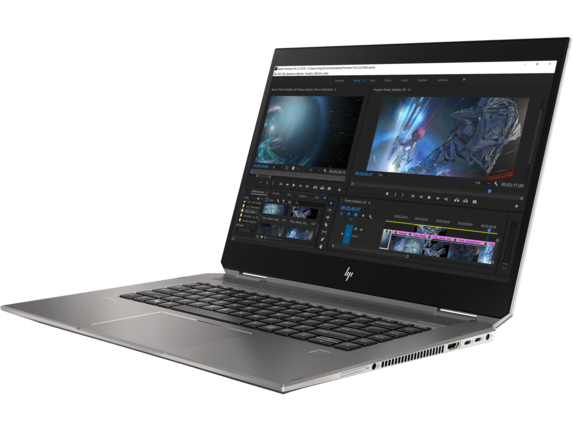 HP ZBook Studio x360 G5 Workstation - Left |Turbo Silver
