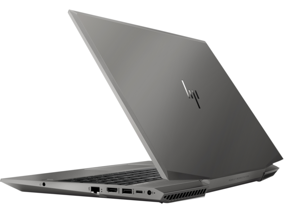HP ZBook 15 G6 Mobile Workstation - Customizable - Left rear |Turbo Silver
