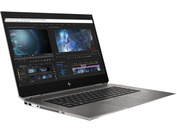 HP ZBook Studio x360 G5 Workstation - Right |Turbo Silver