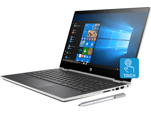 HP Pavilion x360 Laptop - 14t touch Best Value - Left
