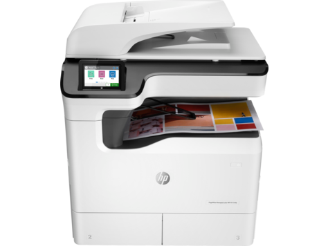 Stampante multifunzione Managed HP PageWide Color P77440dn