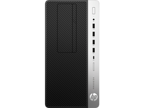 HP ProDesk 600 G4 Microtower PC (with PCI slot)
