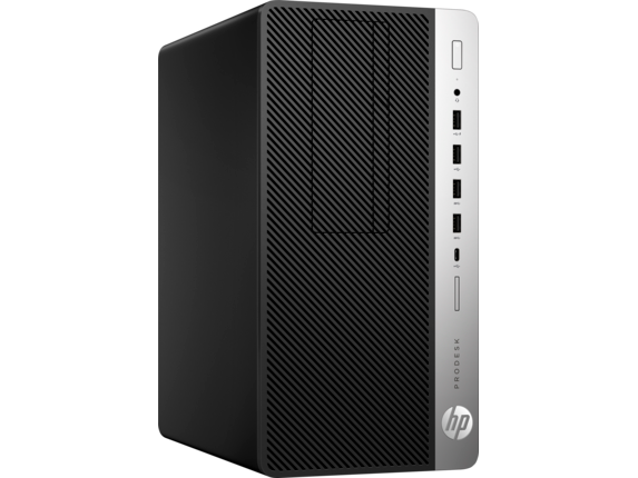 HP ProDesk 600 G4 Microtower PC - Right