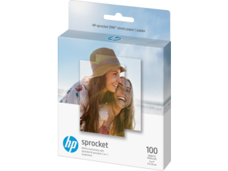 HP Sprocket Photo Paper-100 sticky-backed sheets/2 x 3 in