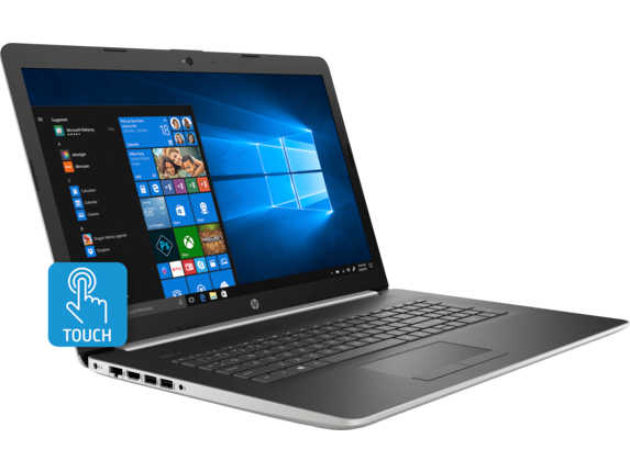 HP 17t Laptop - 8th Generation Intel - touch optional - Right