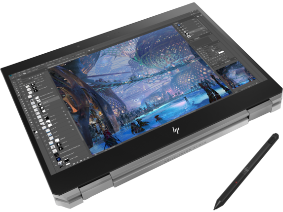 HP ZBook Studio x360 G5 Mobile Workstation - Customizable - Top view closed