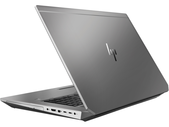 HP ZBook 17 G6 Mobile Workstation - Customizable - Left rear |Turbo Silver