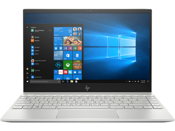 HP ENVY Laptop - 13t touch - Center|Natural Silver